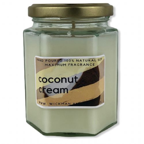 Coconut Cream Soy Wax Candle